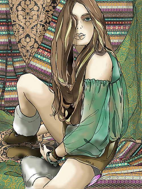 wallpaper Hippie